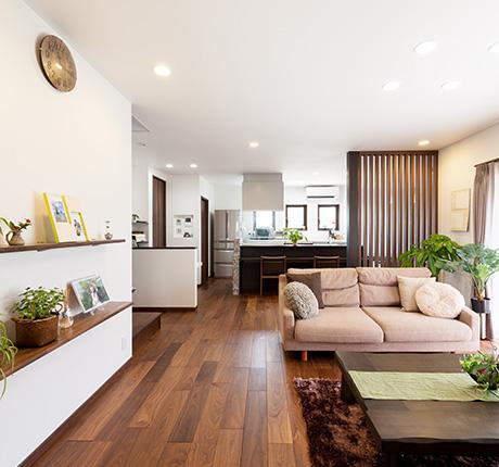 趣味と暮らしを楽しむ家