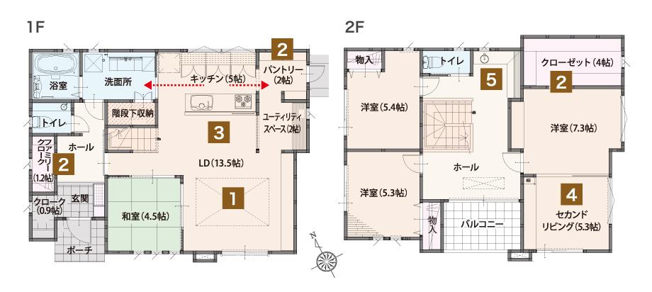 水戸市笠原Ⅱ期まちかど展示場2