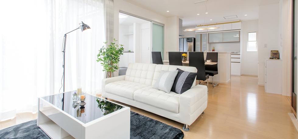 一年中快適な全館空調システム「エアシス」のある二世帯住宅