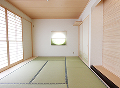描いた通りのイメージをカタチに、自分らしく和+モダンな空間