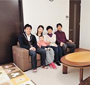 世代を超えた家族時間。みんなで暮らす二世帯住宅