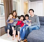 家事と子育てが楽しくなる住まい