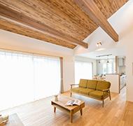 暮らしやすさにこだわった開放感あふれる平屋の住まい